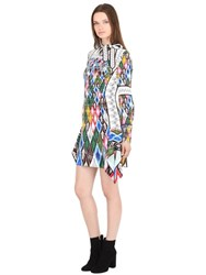 Peter Pilotto Leaf Printed Viscose Cady Stretch Dress