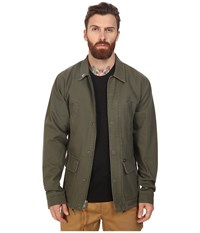 Obey Hoboken Jacket Army Men's Coat Green