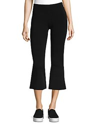 Torn By Ronny Kobo Stretch Cropped Pants Black