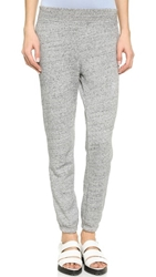 Alexander Wang French Terry Sweatpants Heather Grey