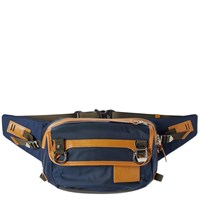 Master Piece Potential Leather Trim Waist Pack Blue