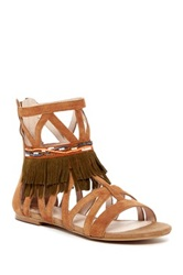 House Of Harlow Mala Gladiator Sandal Brown