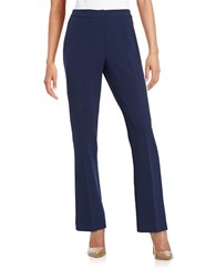 Nipon Boutique Straight Leg Dress Pants Indigo