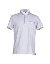 Heritage Topwear Polo Shirts Men Light Grey