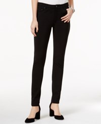Tommy Hilfiger Greenwich Ponte Pants Only At Macy's Black