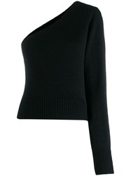 Federica Tosi Off The Shoulder Sweater Black