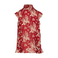 Red Valentino Printed Shirt Lacca Red Print