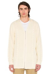 Publish Brock Cardigan White