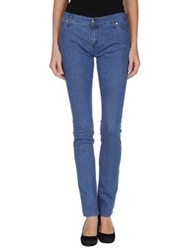 Two Women In The World Denim Pants Blue