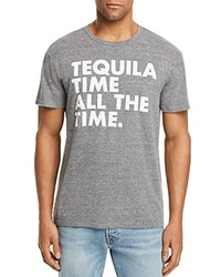 Chaser Tequila Time Tee Streaky Grey