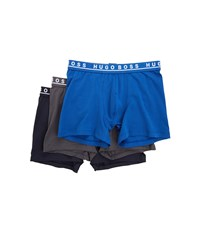 Hugo Boss Boxer Brief 3 Pack Co El 10146061 01 True Blue Sky Captain Forged Iron Men's Underwear Multi