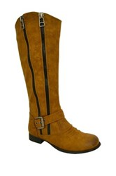 Twisted Trooper Tall Boot Brown