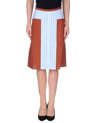 Made For Loving Knee Length Skirts Sky Blue