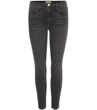 Current Elliott The Stiletto Skinny Jeans Black