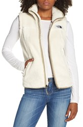 The North Face Campshire Vest Vintage White Dune Beige