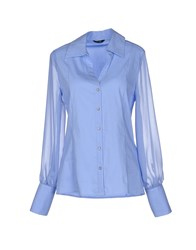 Guess By Marciano Shirts Blouses Women Sky Blue