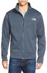 The North Face Men's 'Canyonwall' Fleece Jacket Conquer Blue Heather