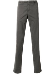 Boglioli Tailored Fitted Trousers Grey