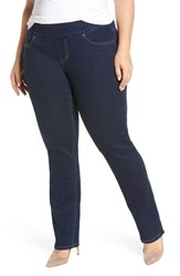 Jag Jeans Plus Size Women's Paley Pull On Bootcut Med Indigo