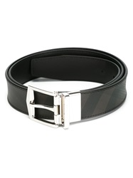 Burberry Checked Buckled Belt