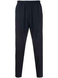 Hydrogen Straight Leg Track Pants Blue