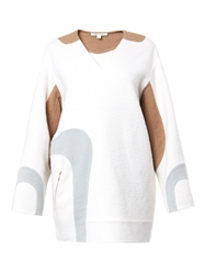 Marc Jacobs Wave Panel Wool Blend Tunic