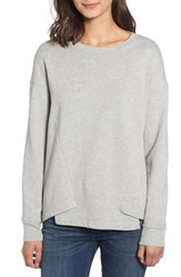 Stateside French Terry Sweatshirt Heather Grey