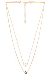Wanderlust Calista Layered Necklace Metallic Gold