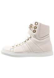 Elisabetta Franchi Hightop Trainers Avorio White
