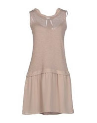 Nuvola Short Dresses Dove Grey
