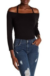 1.State Strappy 3 4 Sleeve Shirt Black