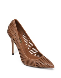 Bcbgeneration Ovation High Heel Leather Pumps Brown