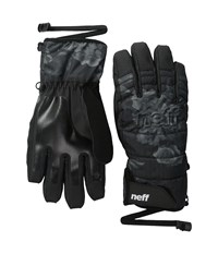 Neff Womens Digger Glove Black Floral Snowboard Gloves