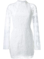 Manning Cartell 'Tea Party' Mini Dress White
