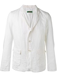 Casey Casey Flap Pockets Blazer White