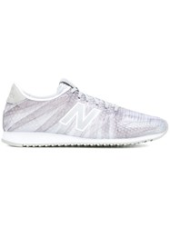 New Balance 'Wl420' Feather Graphic Sneakers Grey