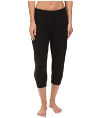 Yummie Tummie Baby French Terry Capris Black Women's Capri