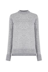 Warehouse Boxy Crew Jumper Light Grey