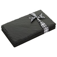 The Just Slate Company Double Coasters Set Of 4