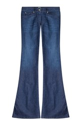 Just Cavalli Flared Jeans With Embroidered Pockets Gr. 32