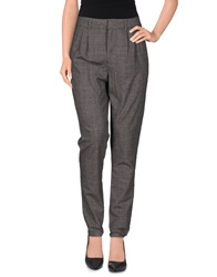 E Go' Sonia De Nisco Casual Pants Steel Grey