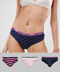Penguin 3 Pack Ladies Brazilian Brief Multi