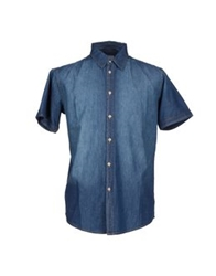 Authentic Original Vintage Style Denim Shirts Blue