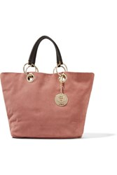 See By Chloe Summer Brushed Suede Tote Antique Rose