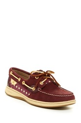 Sperry Bluefish Metallic Dot Boat Shoe Red
