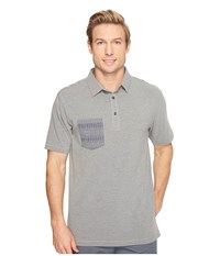 Linksoul Ls1168 Polo Dark Grey Heather Men's Clothing Gray