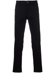Dolce And Gabbana Straight Leg Jeans Black