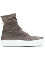 The Last Conspiracy Finn Sneakers Leather Suede Rubber Grey