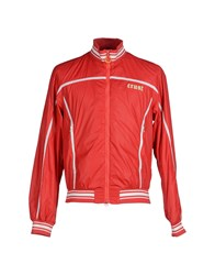 Crust Coats And Jackets Jackets Men Red