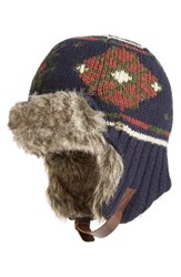 Bickley Mitchell Men's Faux Fur Trapper Hat
